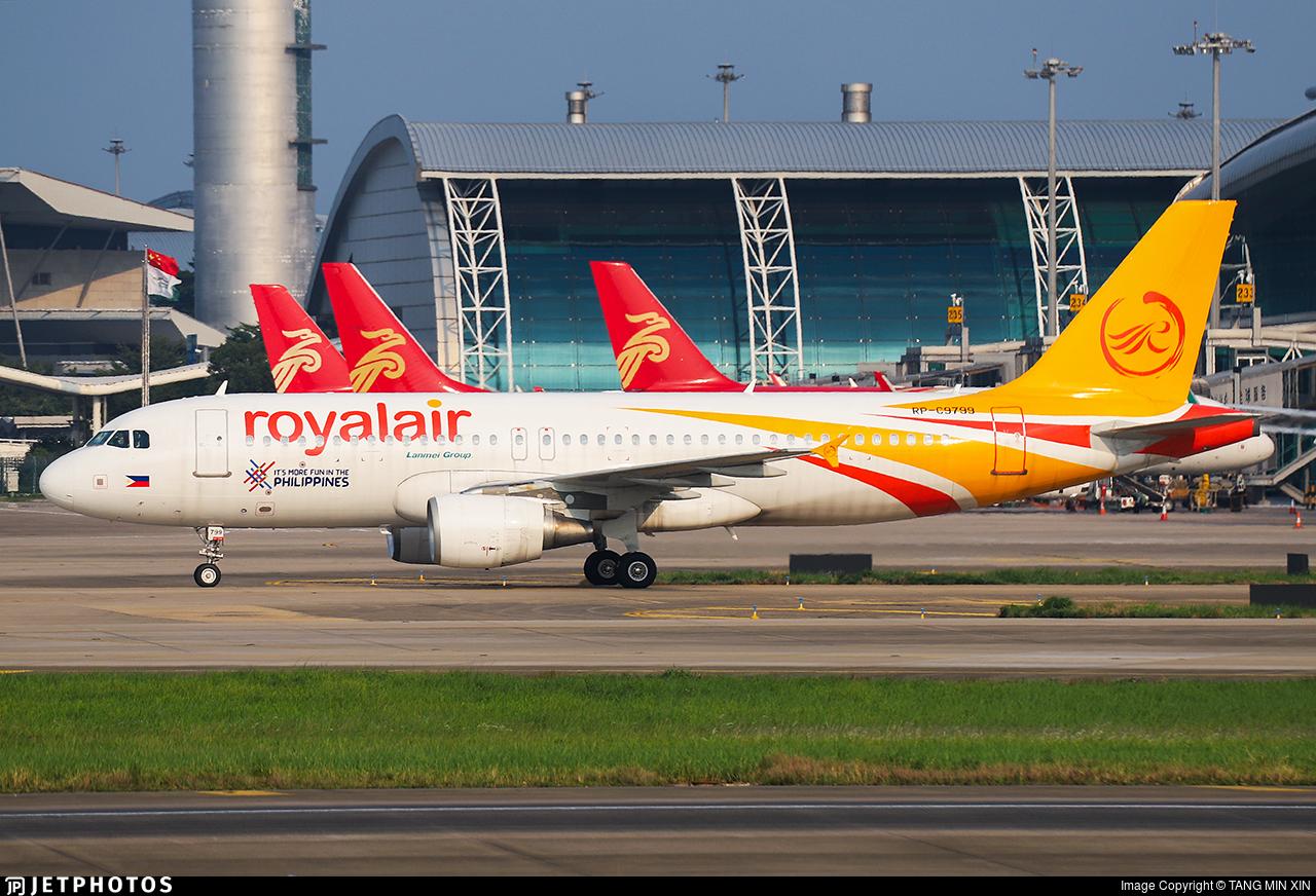 RP-C9799 - Airbus A320-214 - Royal Air Philippines