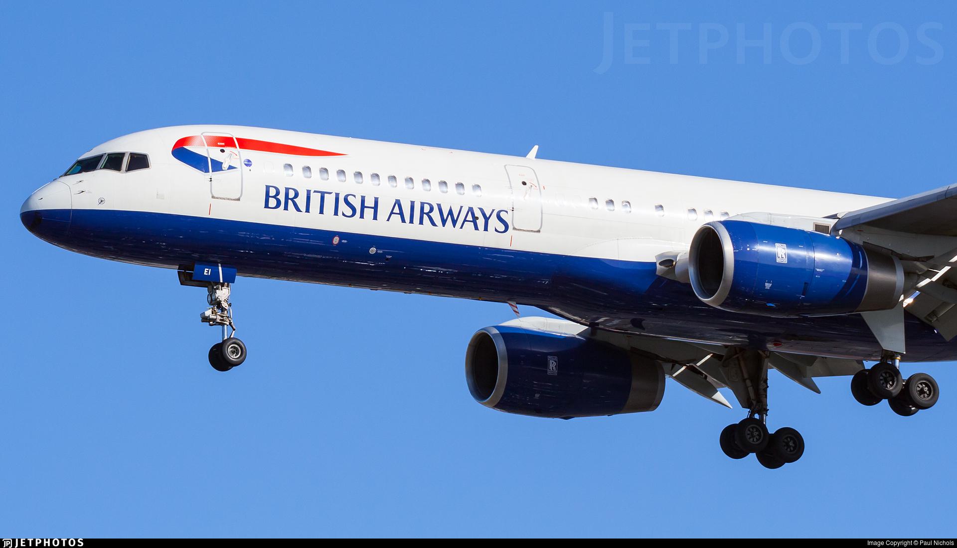 G-BPEI - Boeing 757-236 - British Airways