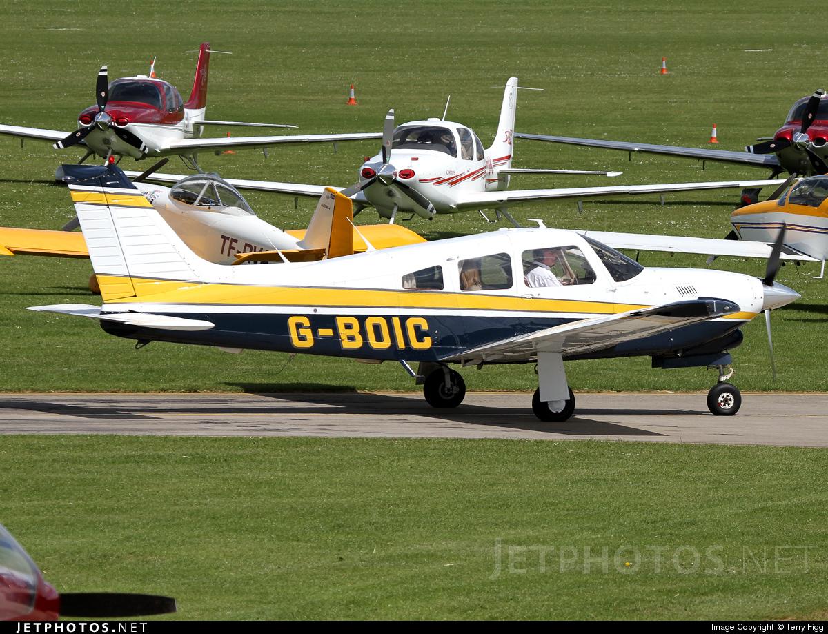 G-BOIC - Piper PA-28R-201T Turbo Arrow III - Private