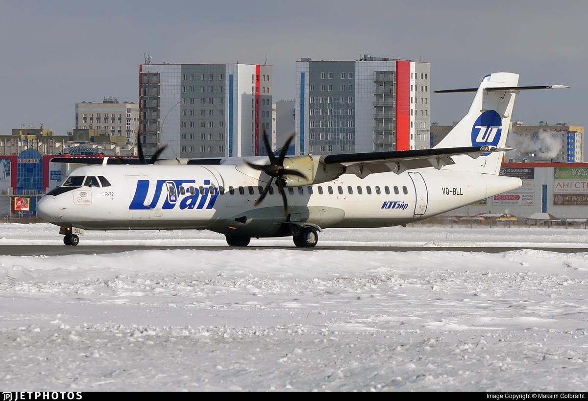 VQ-BLL - ATR 72-212A(500) - UTair Aviation
