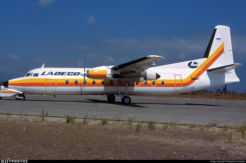 CC-CIS - Fokker F27-500F Friendship - Ladeco