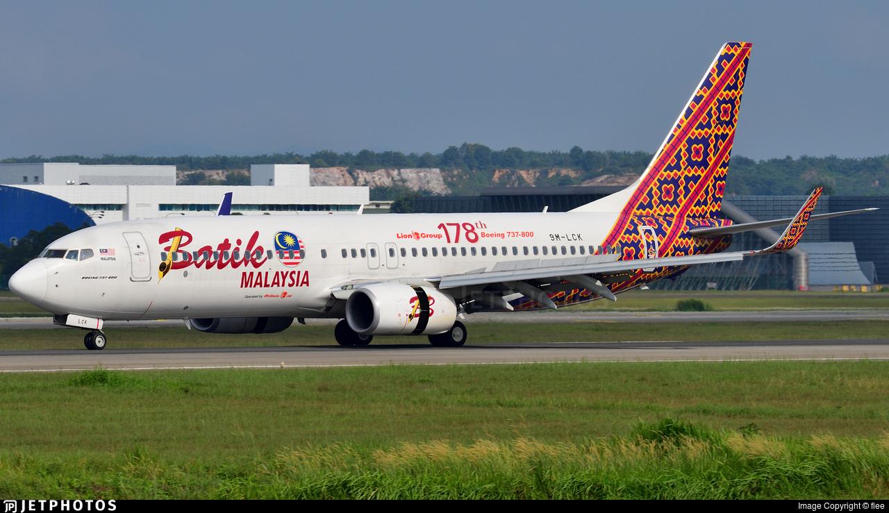 9M-LCK - Boeing 737-8GP - Batik Air Malaysia