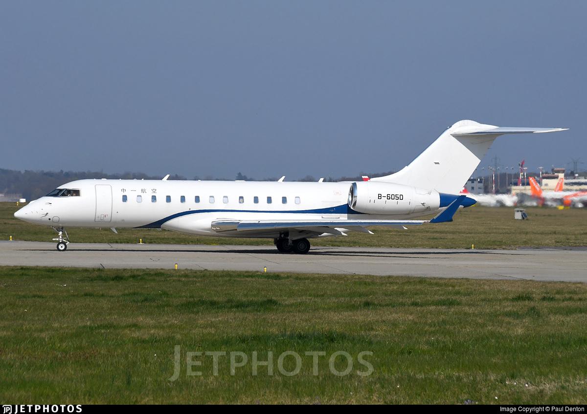 B-605D - Bombardier BD-700-1A10 Global 6000 - Zyb Lily Jet