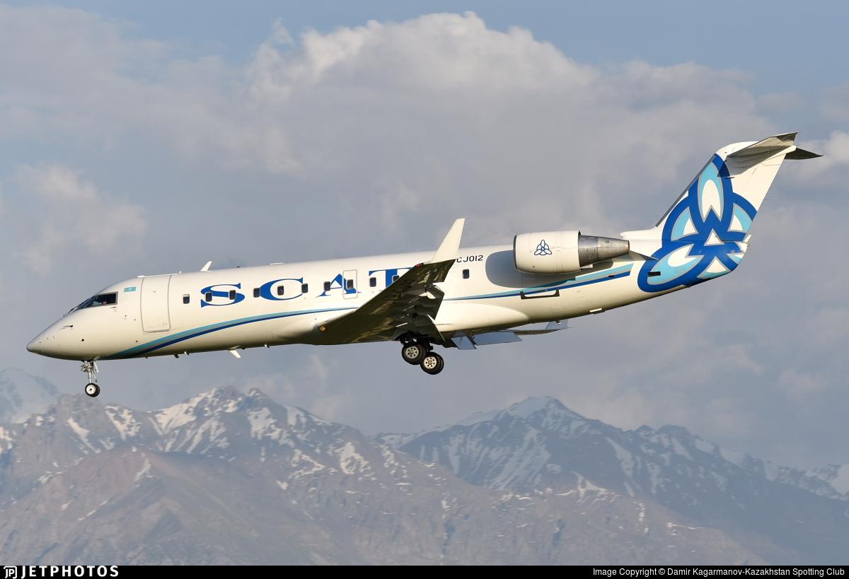 UP-CJ012 - Bombardier CRJ-200ER - Scat Air Company