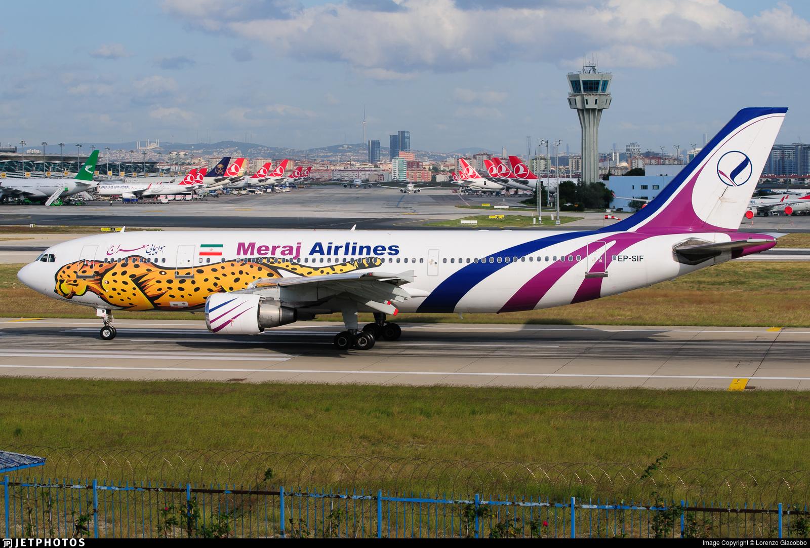 EP-SIF - Airbus A300B4-622R - Meraj Air