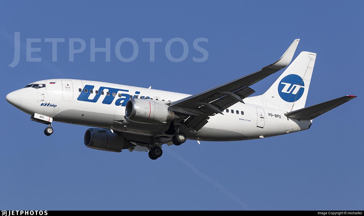 VQ-BPO - Boeing 737-524 - UTair Aviation