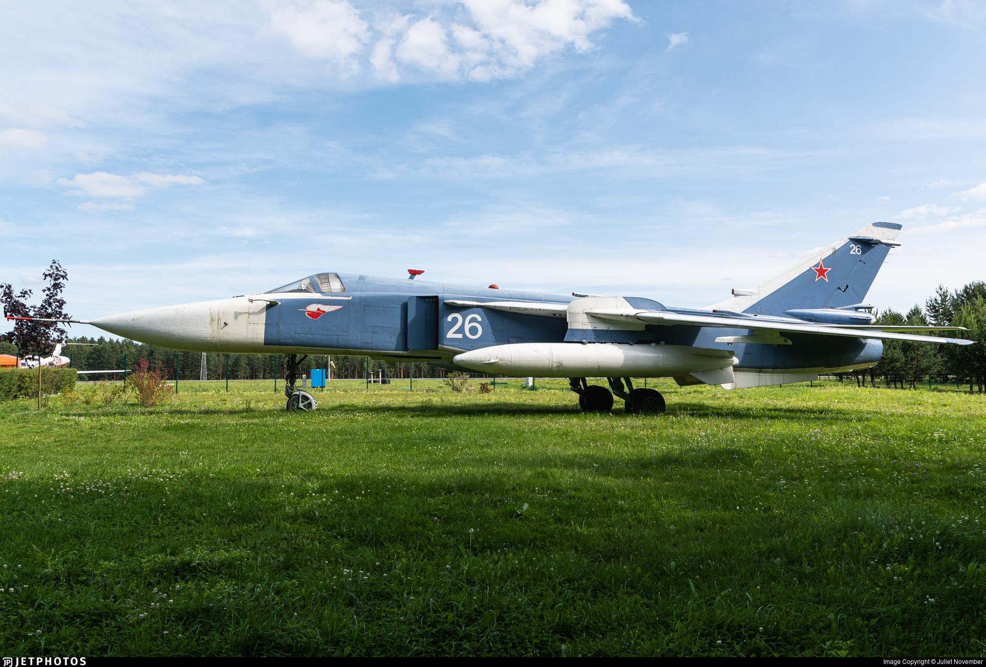26 - Sukhoi Su-24M Fencer - Belarus - Air Force