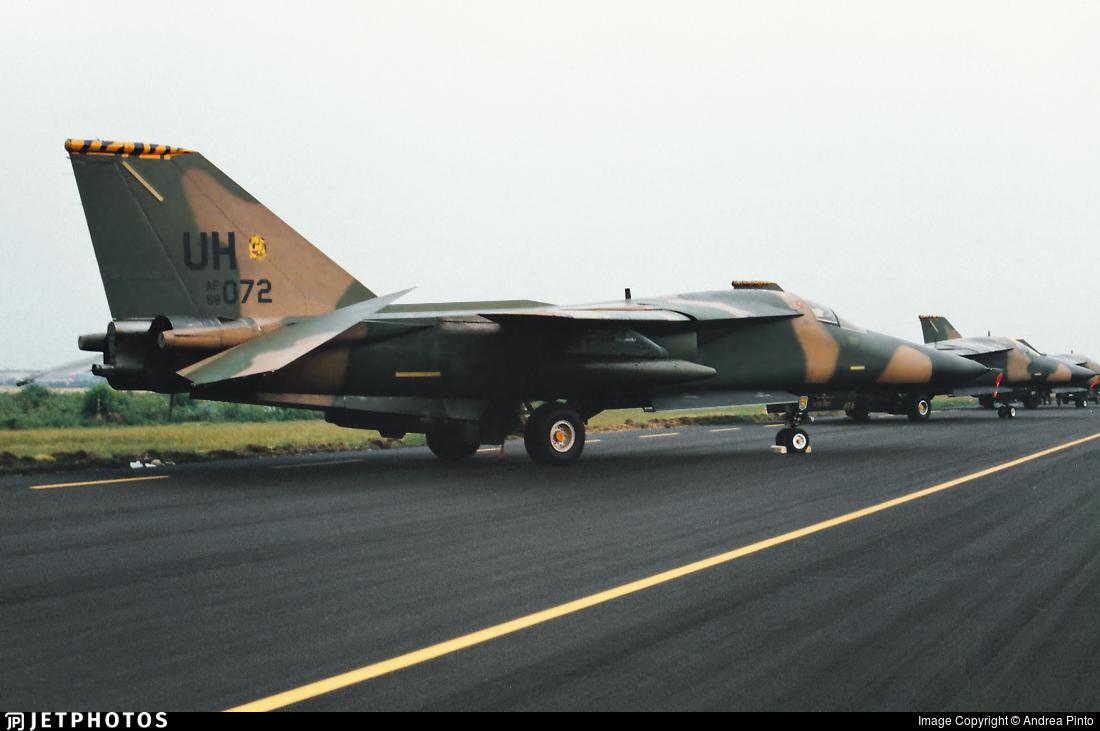 68-0072 - General Dynamics F-111E Aardvark - United States - US Air Force (USAF)