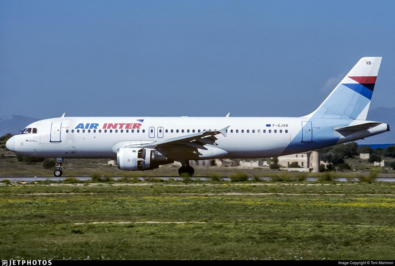 F-GJVB - Airbus A320-211 - Air Inter