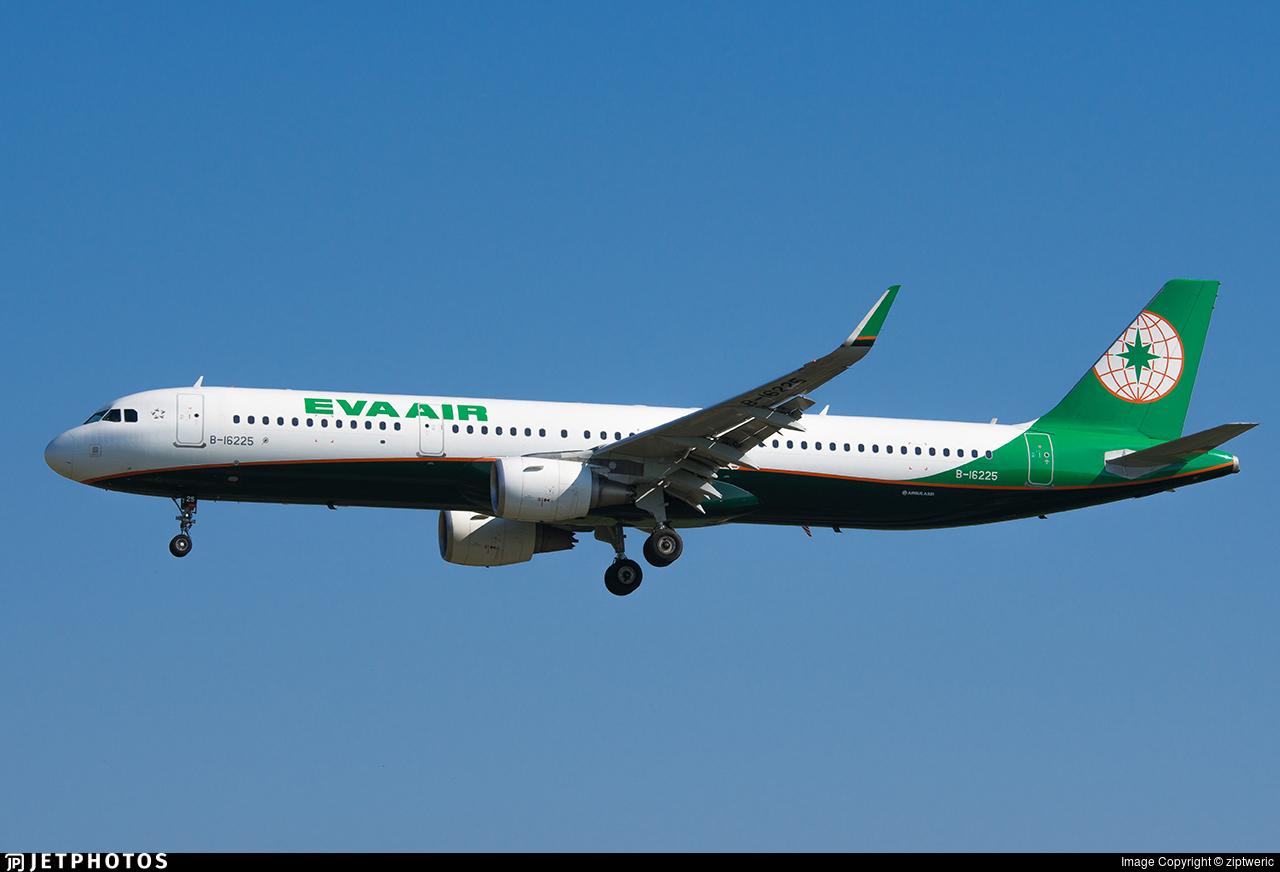 B-16225 - Airbus A321-211 - Eva Air