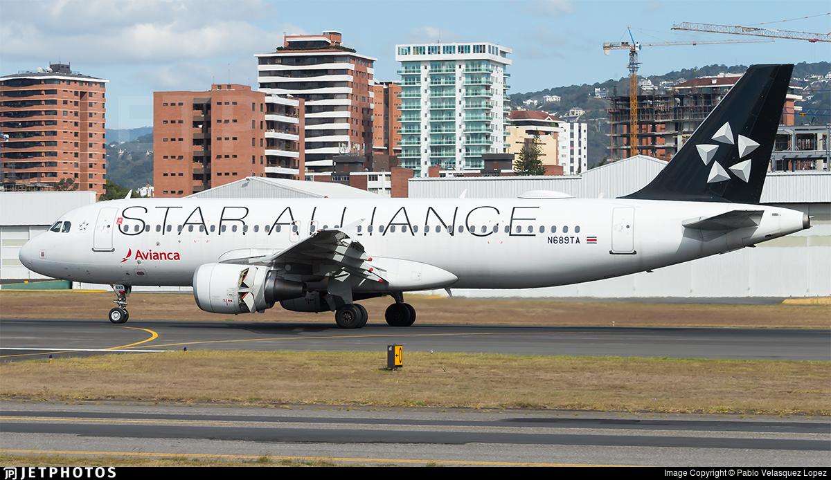 N689TA - Airbus A320-214 - Avianca Central America