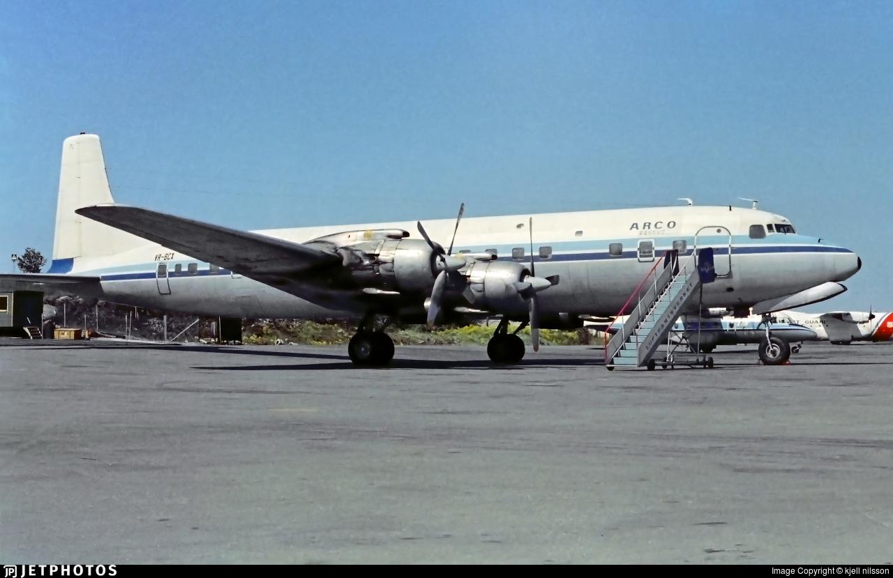 VR-BCX - Douglas DC-7C Seven Seas - ARCO Bermuda