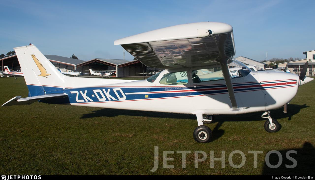 ZK-DKD - Cessna 172M Skyhawk II - Private