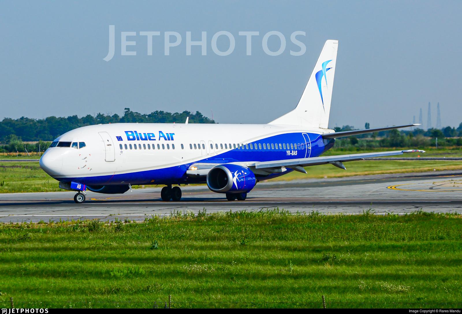 YR-BAS - Boeing 737-430 - Blue Air