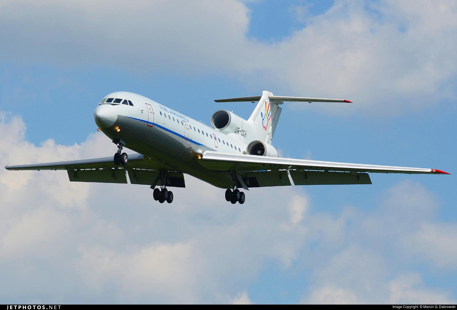 UR-COH - Yakovlev Yak-42D - Five Airways