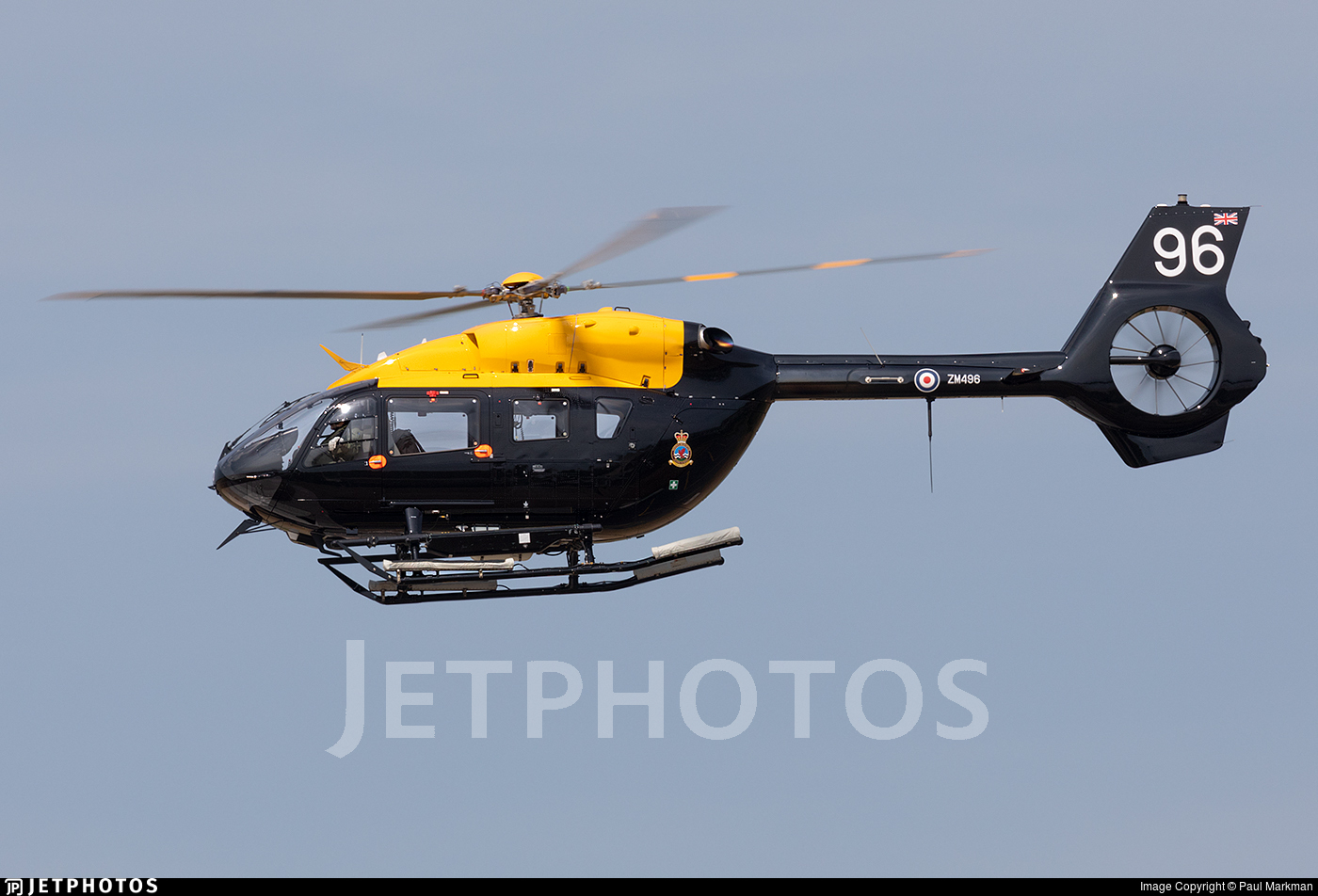 ZM496 - Airbus Helicopters H145 Jupiter HT.1 - United Kingdom - Defence Helicopter Flying School