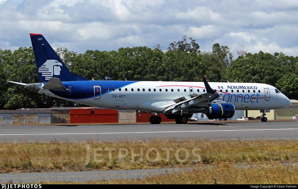 XA-ACT - Embraer 190-100LR - Aeromexico Connect