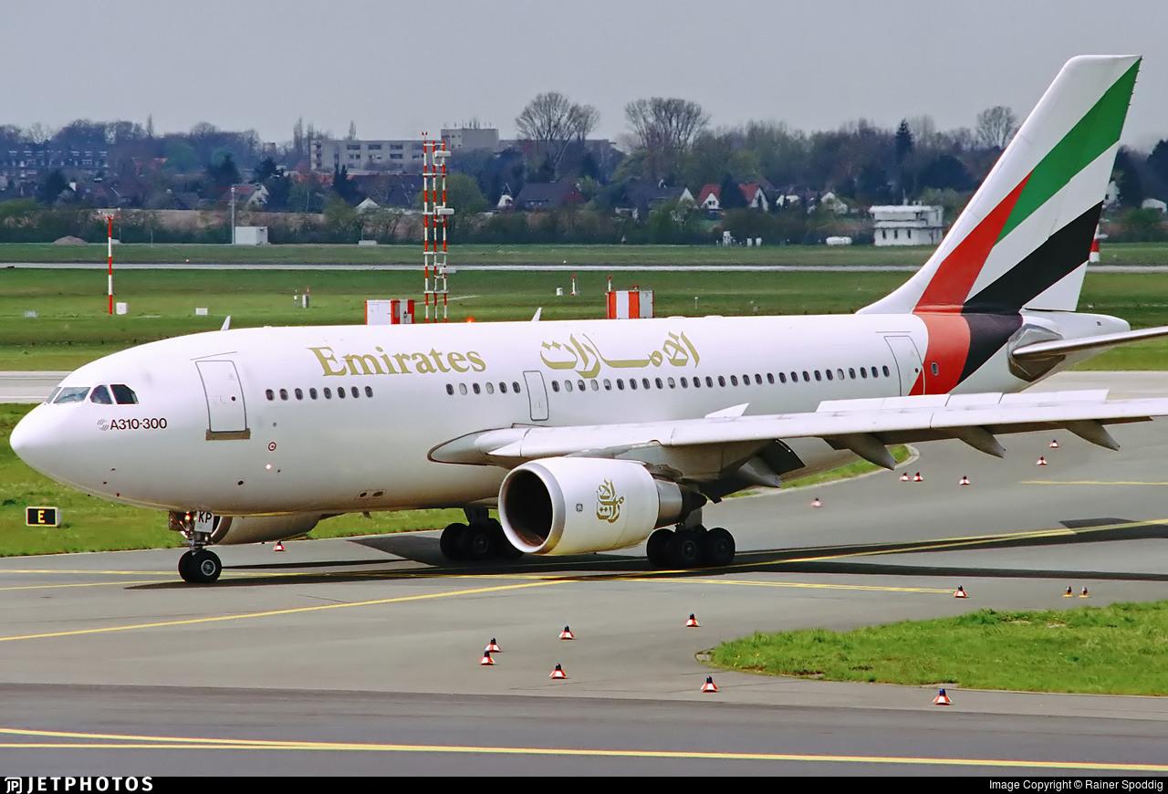 A6-EKP - Airbus A310-308 - Emirates