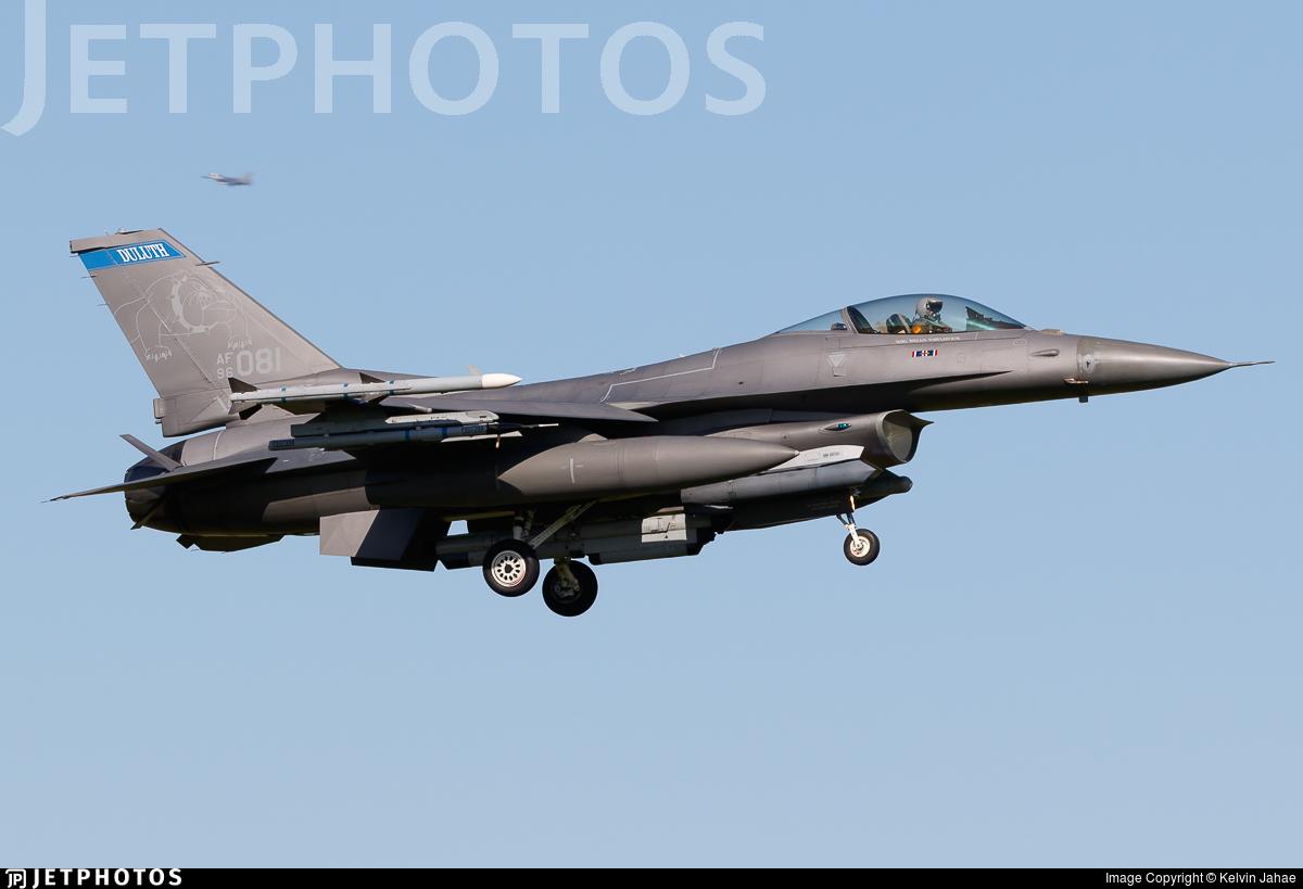 96-0081 - Lockheed Martin F-16CJ Fighting Falcon - United States - US Air Force (USAF)