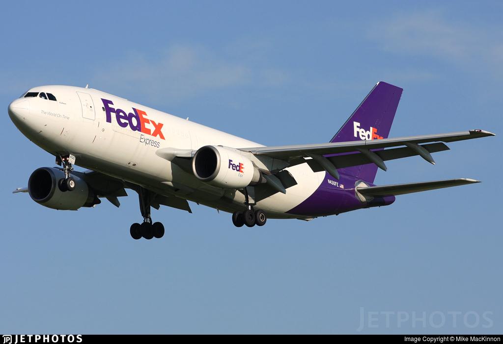 N430FE - Airbus A310-203(F) - FedEx