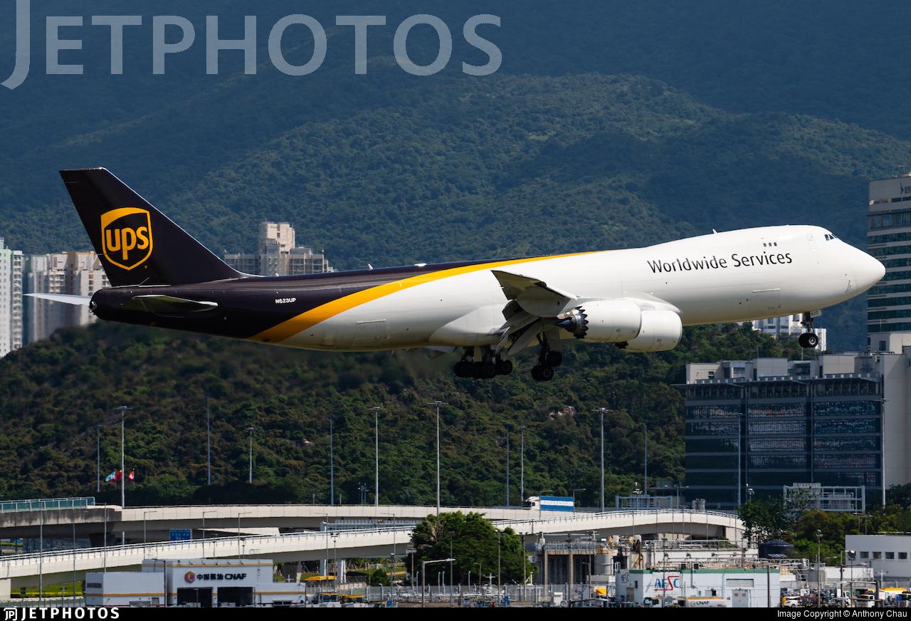 N623UP - Boeing 747-84AF - United Parcel Service (UPS)
