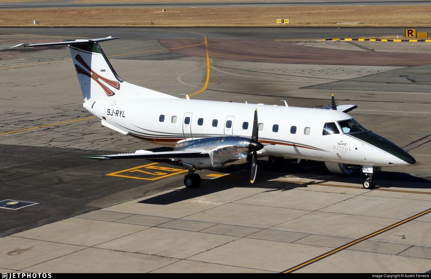 9J-RYL - Embraer EMB-120ER Bras�lia - Royal Air Charters