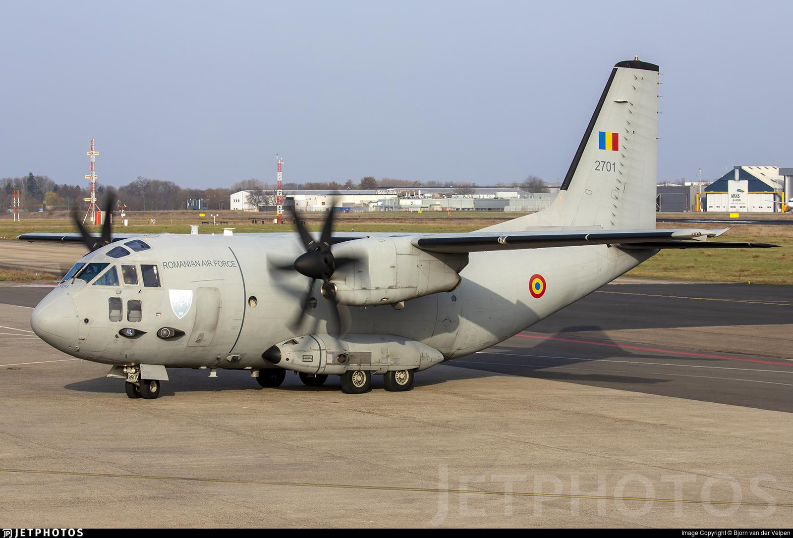 2701 - Alenia C-27J Spartan - Romania - Air Force