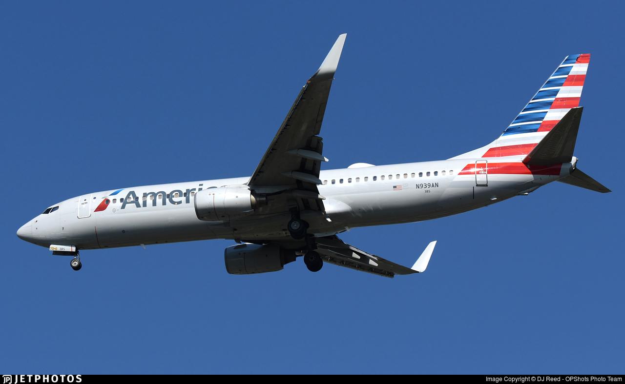 N939AN - Boeing 737-823 - American Airlines