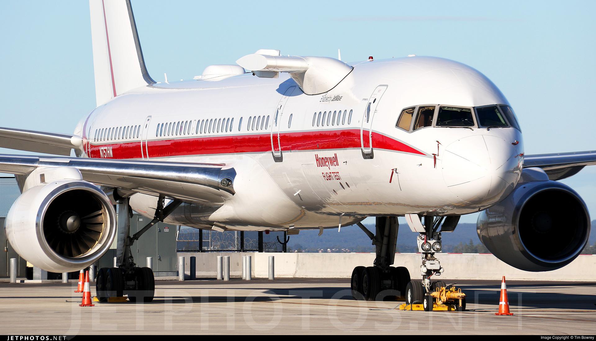 N757HW - Boeing 757-225 - Honeywell Aerospace