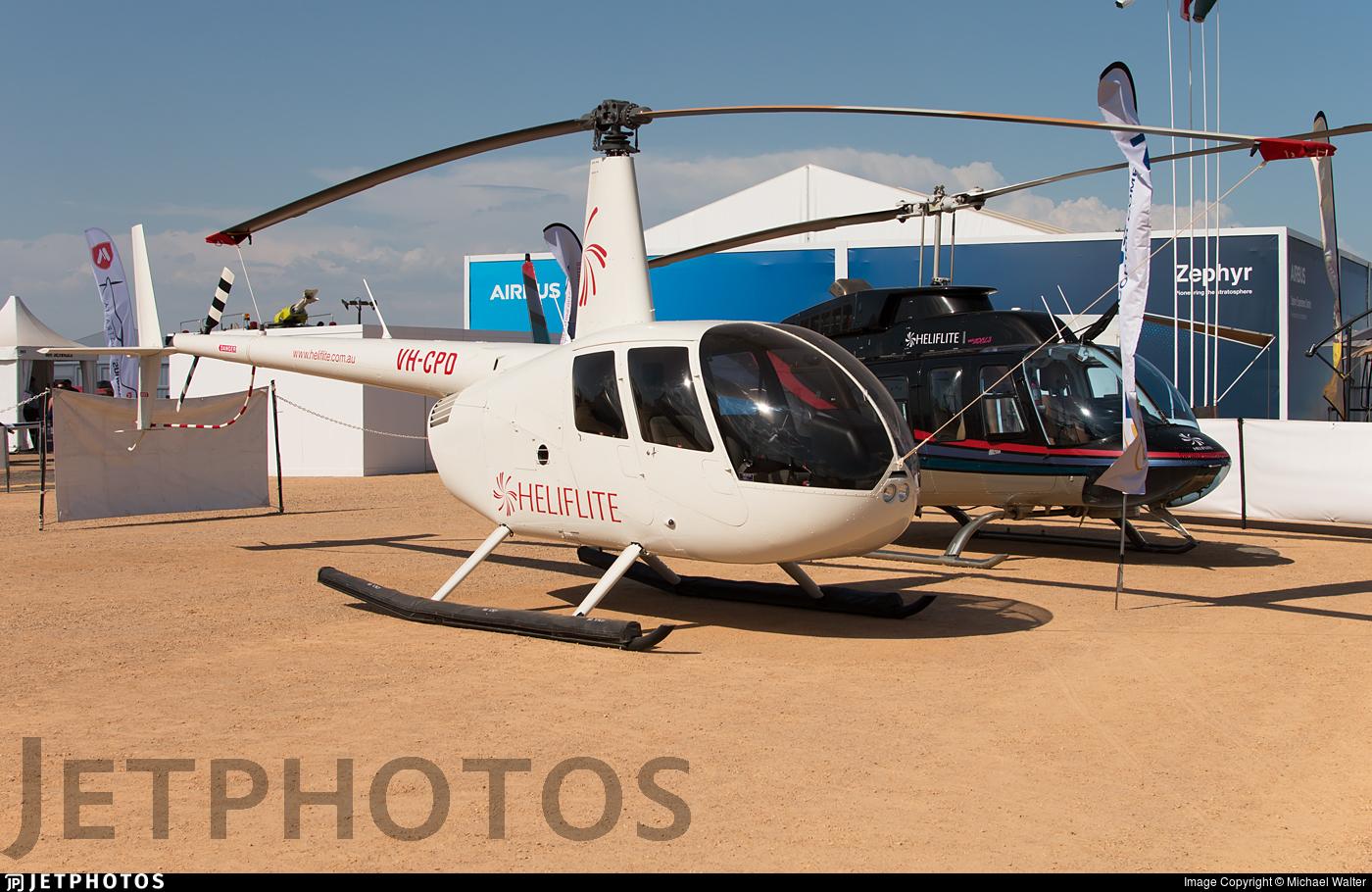 VH-CPD - Robinson R44 Raven II - Heliflite