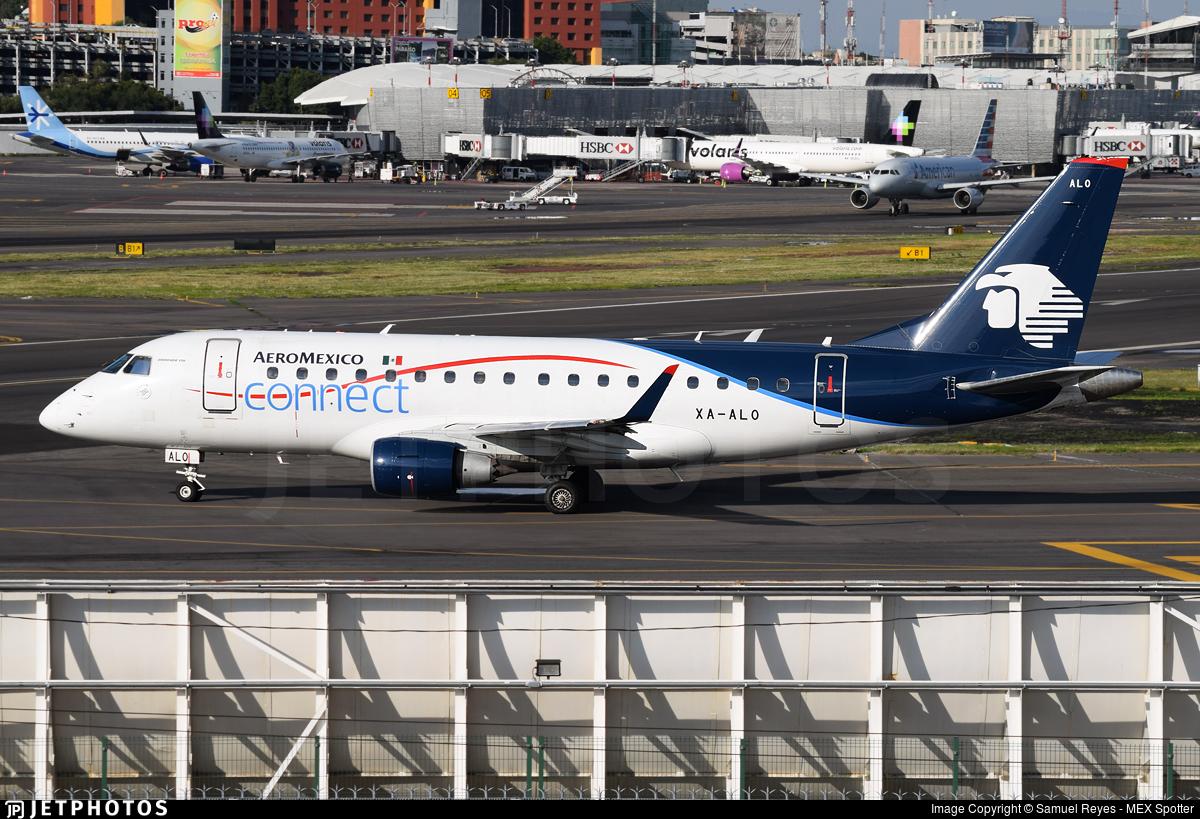 XA-ALO - Embraer 170-100LR - Aeroméxico Connect