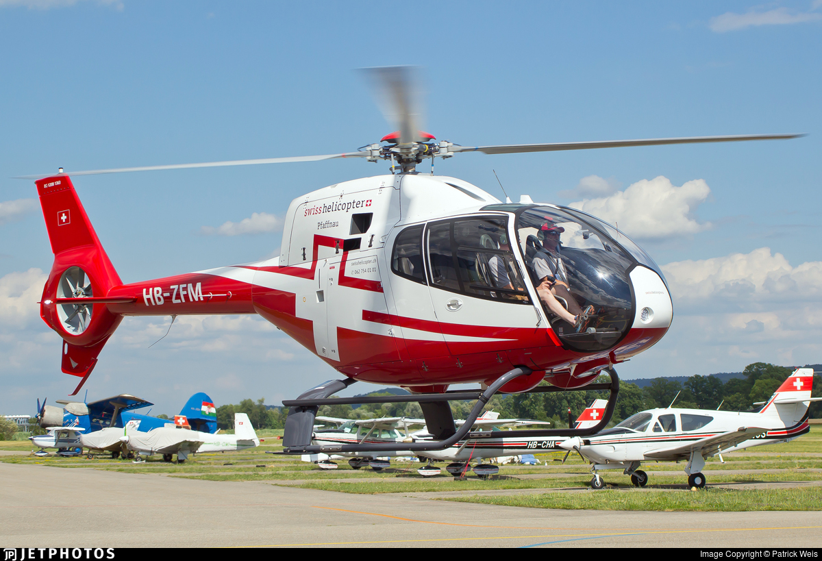 HB-ZFM - Eurocopter EC 120B Colibri - Swiss Helicopter