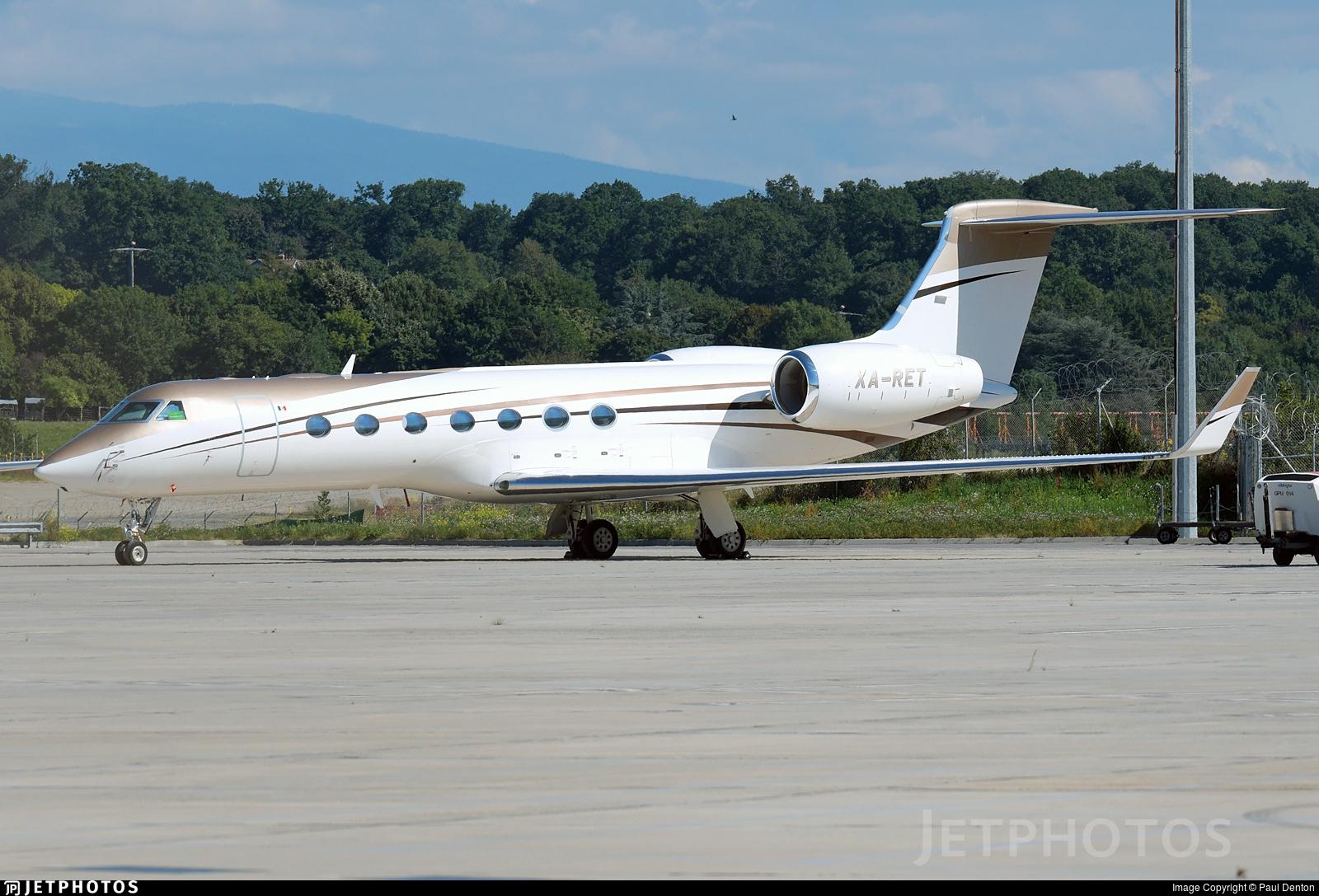 XA-RET - Gulfstream G550 - Private