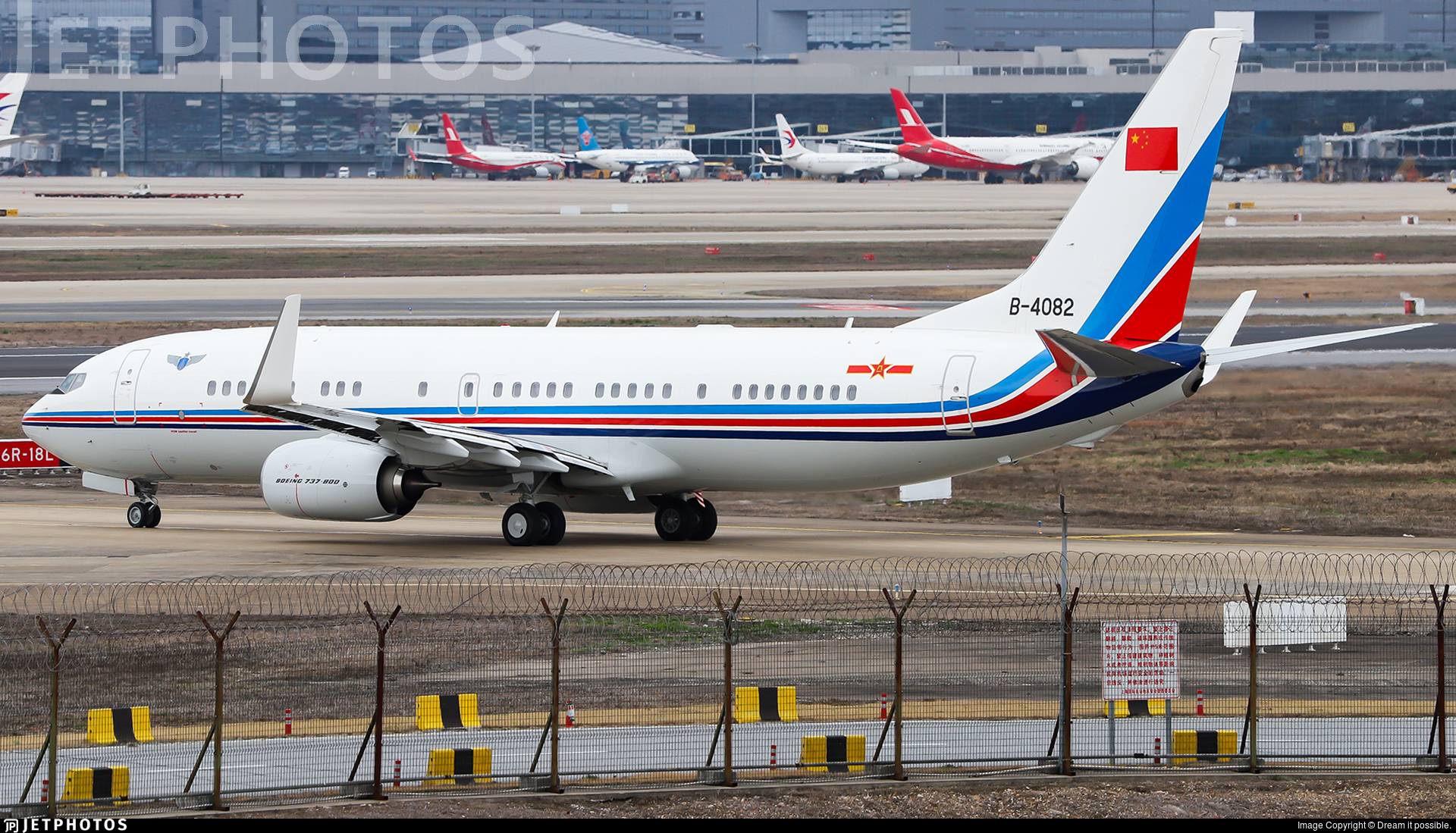 B-4082 - Boeing 737-89L - China - Air Force