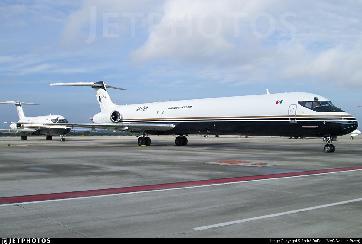 XA-TSM - McDonnell Douglas MD-83(SF) - Aeronaves TSM