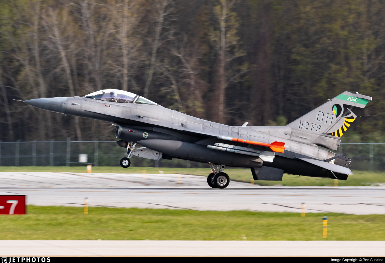 89-2112 - General Dynamics F-16C Fighting Falcon - United States - US Air Force (USAF)