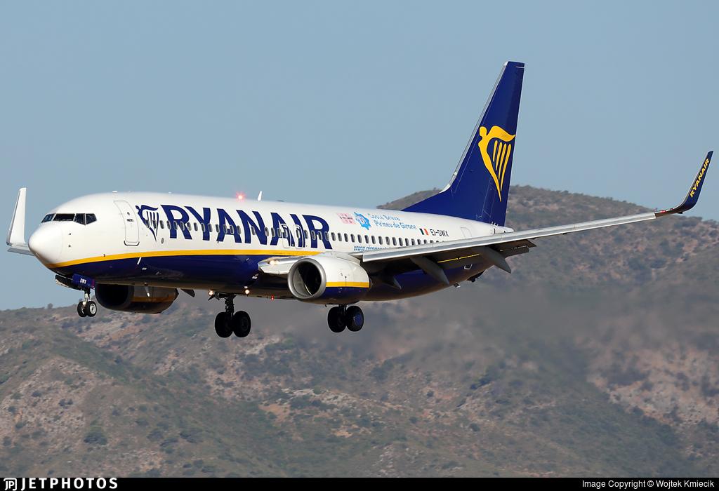 EI-DWX - Boeing 737-8AS - Ryanair