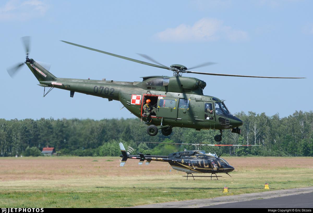 0702 - PZL-Swidnik W3 Sokol - Poland - Air Force