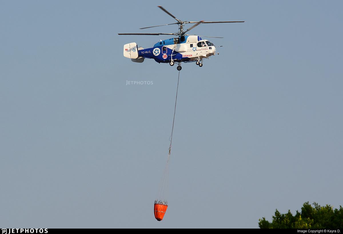 TC-HLG - Kamov Ka-32-11BC - Kaan Air