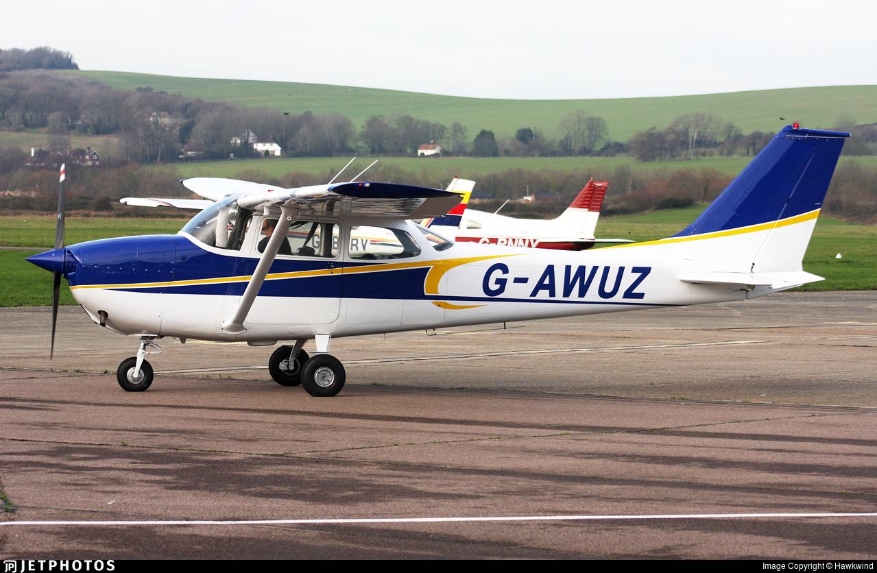 G-AWUZ - Reims-Cessna F172H Skyhawk - Private
