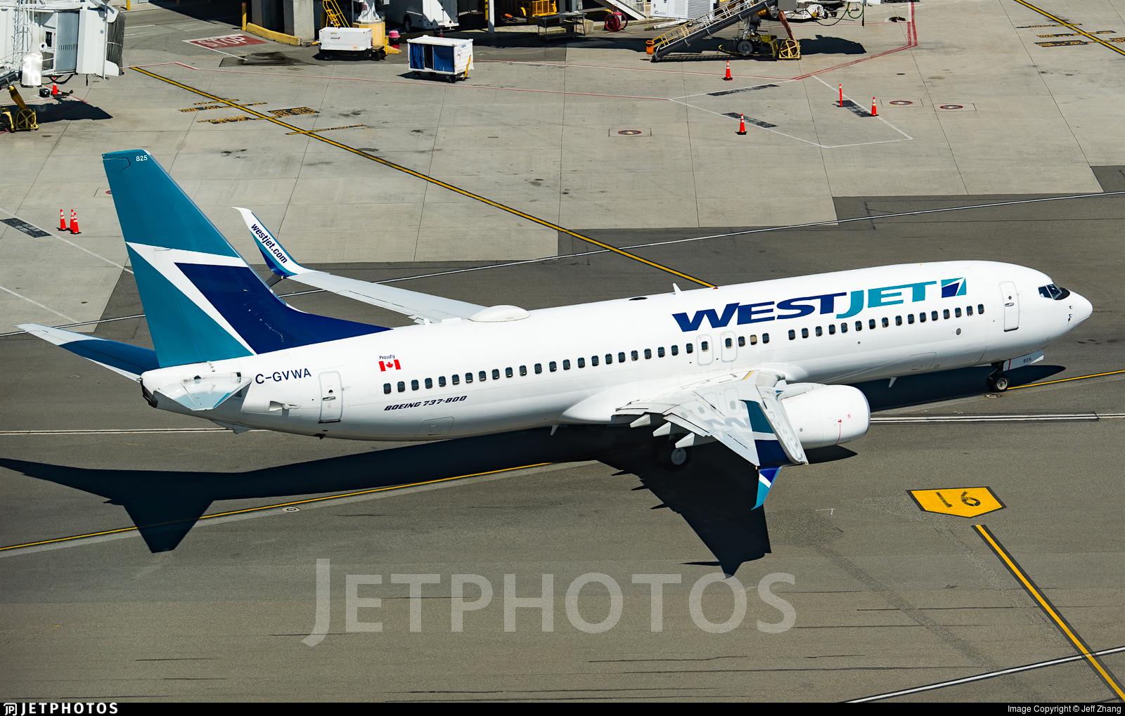 C-GVWA - Boeing 737-8CT - WestJet Airlines