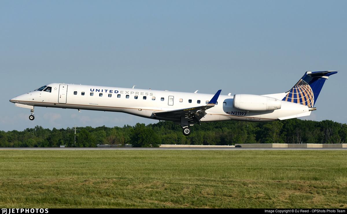 N21197 - Embraer ERJ-145XR - United Express (ExpressJet Airlines)