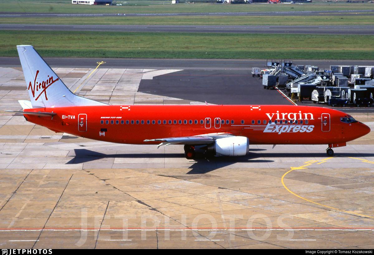 EI-TVA - Boeing 737-43Q - Virgin Express