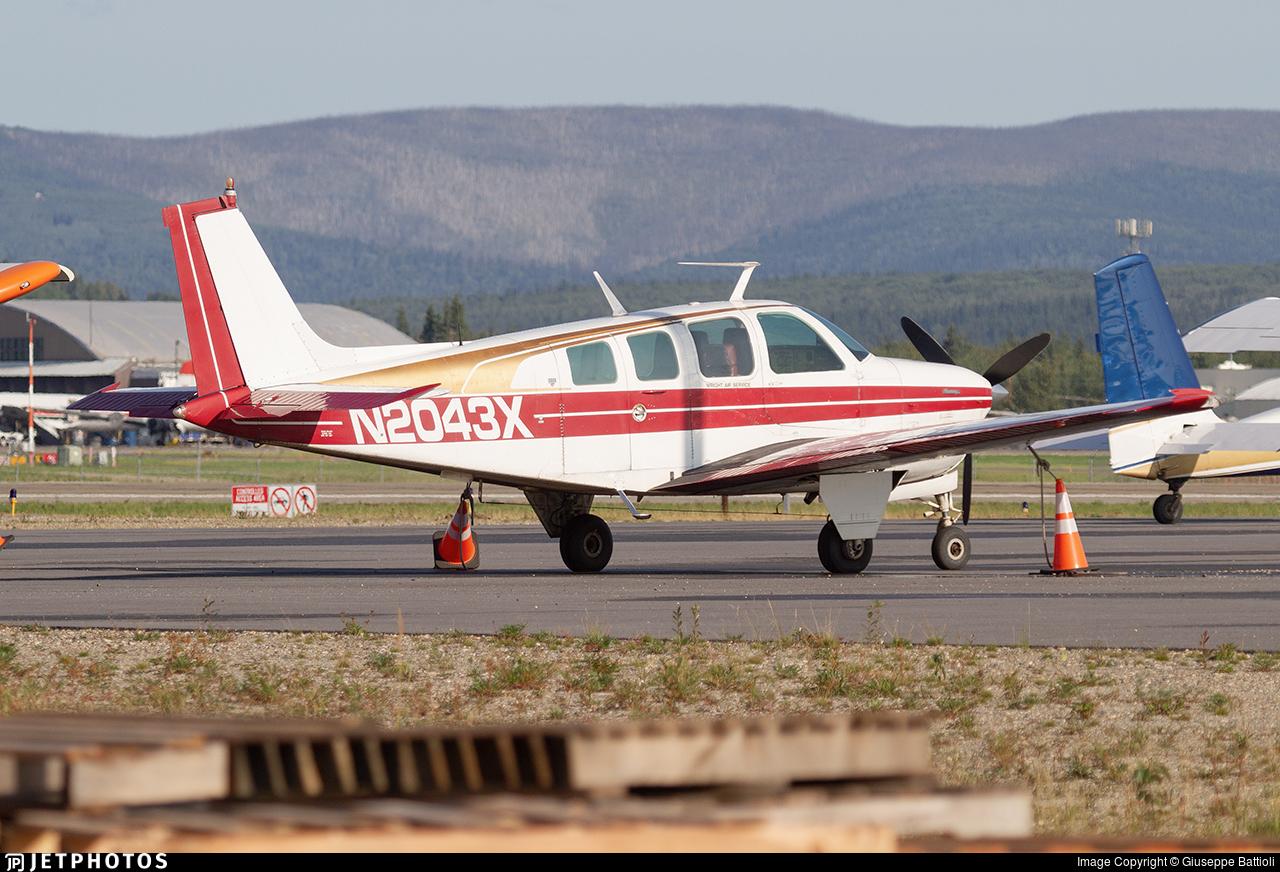 N2043X - Beech A36 Bonanza - Private