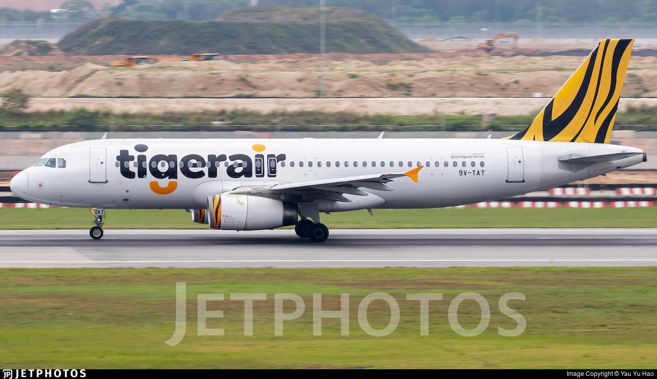 9V-TAT - Airbus A320-232 - Tigerair