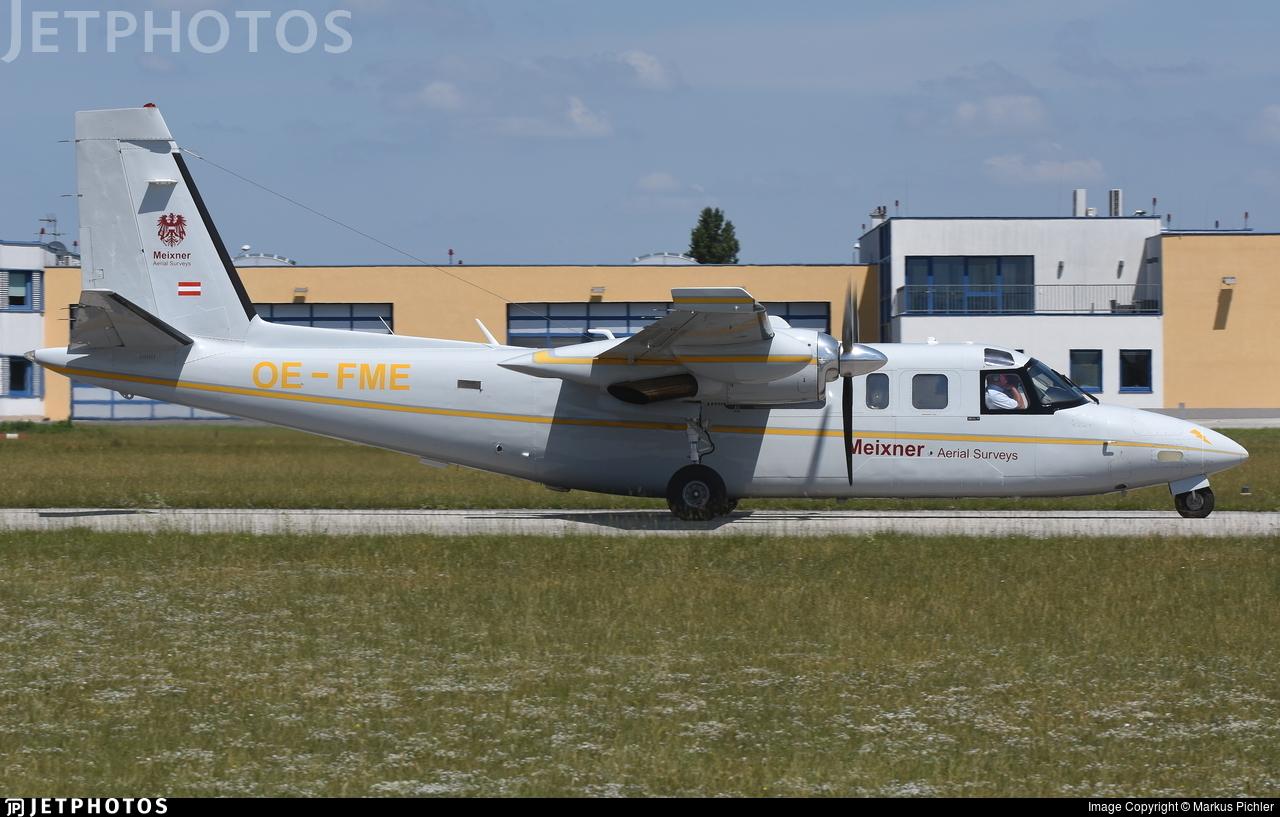 OE-FME - Aero Commander 690 - Meixner Aerial Survey