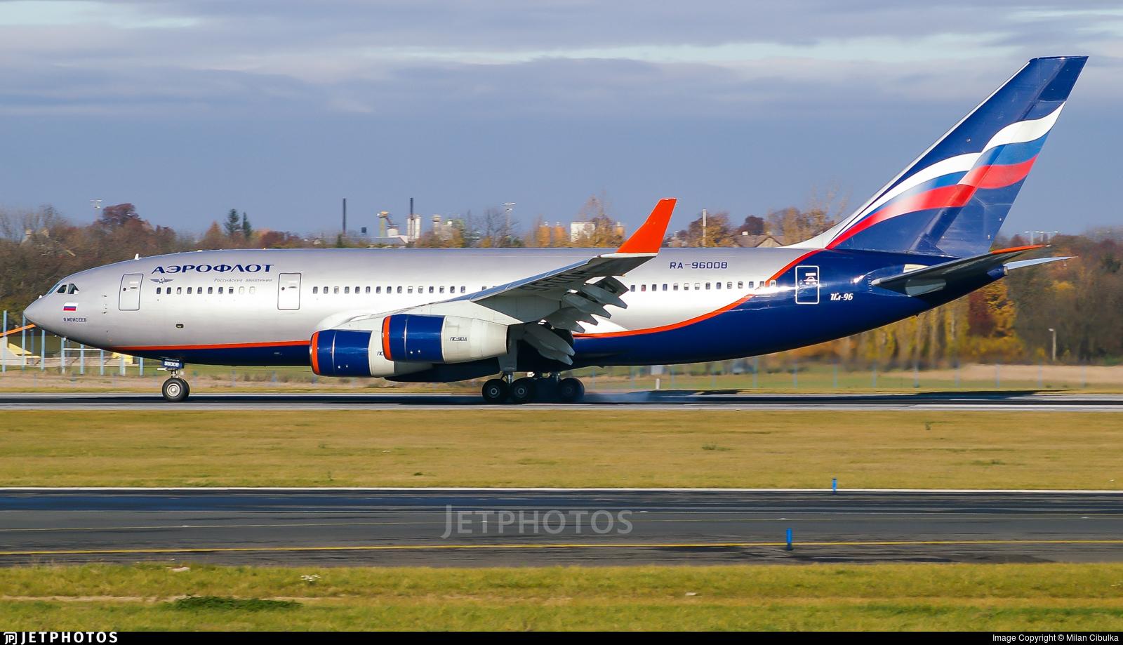 RA-96008 - Ilyushin IL-96-300 - Aeroflot