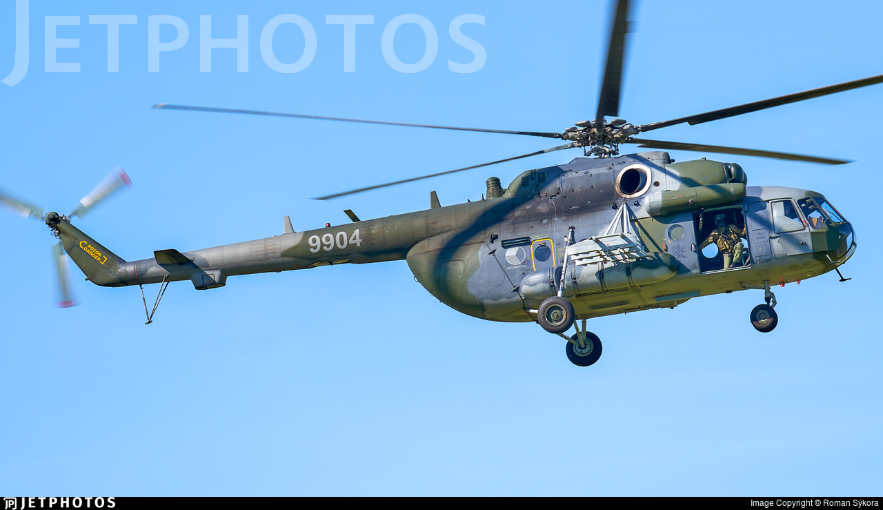 9904 - Mil Mi-171Sh Baikal - Czech Republic - Air Force