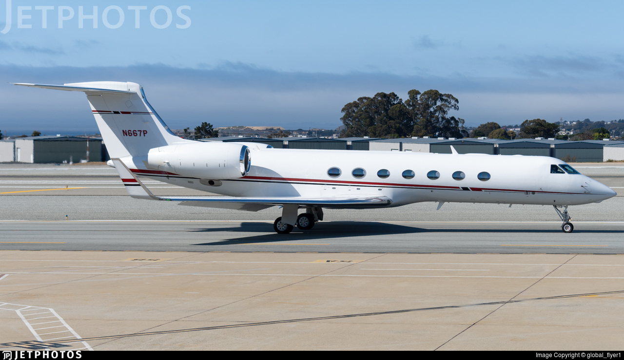 N667P - Gulfstream G550 - ConocoPhillips