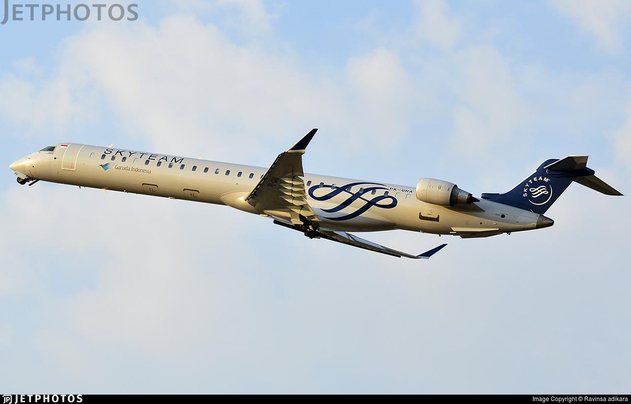 PK-GRA - Bombardier CRJ-1000ER - Garuda Indonesia Explore Jet